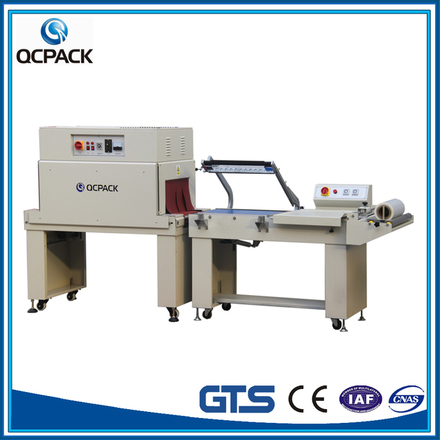 Trade assurance POF shrink film machine 800~1200 packs/hour with CE Approved