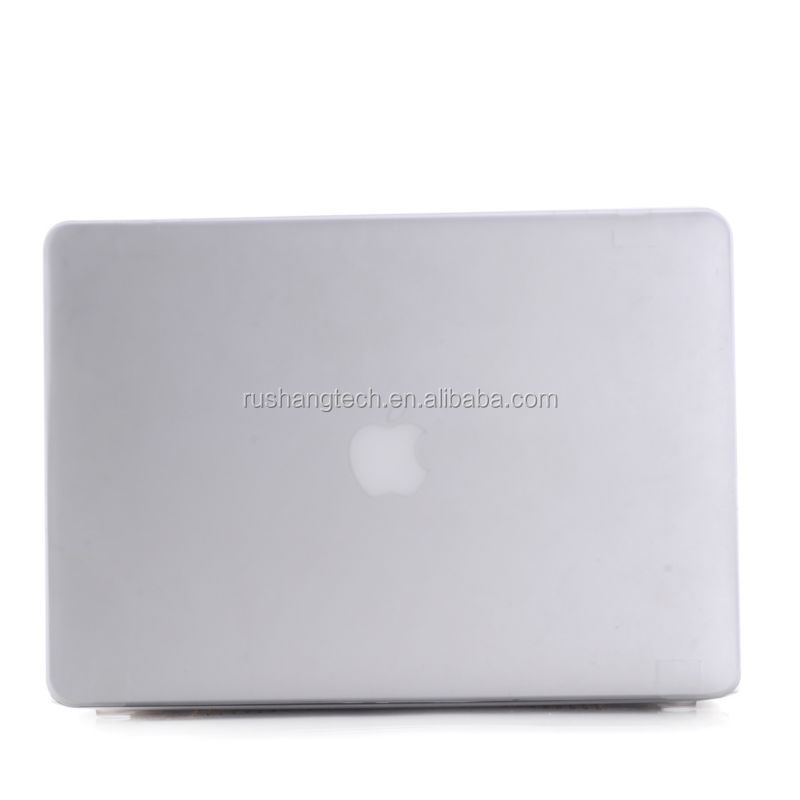 PC Material and Laptop Sleeve Type rubberized hard case cover for macbook pro
