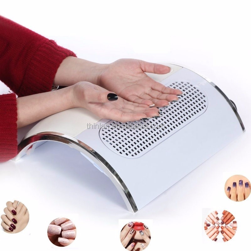 Alibaba top selling Nail art salon suction Exhaust Fan Nail dust collector Vacuum with 3 fans 100-240V 50/60Hz