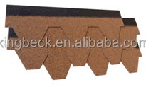 Fiberglass asphalt shingles fish scale Ghana/ Cambodia roofing shingle price