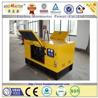 Water cooled power electric automatic ATS soundproof silent generator