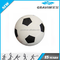 Good quality deflated packing soccer balls,rubber football