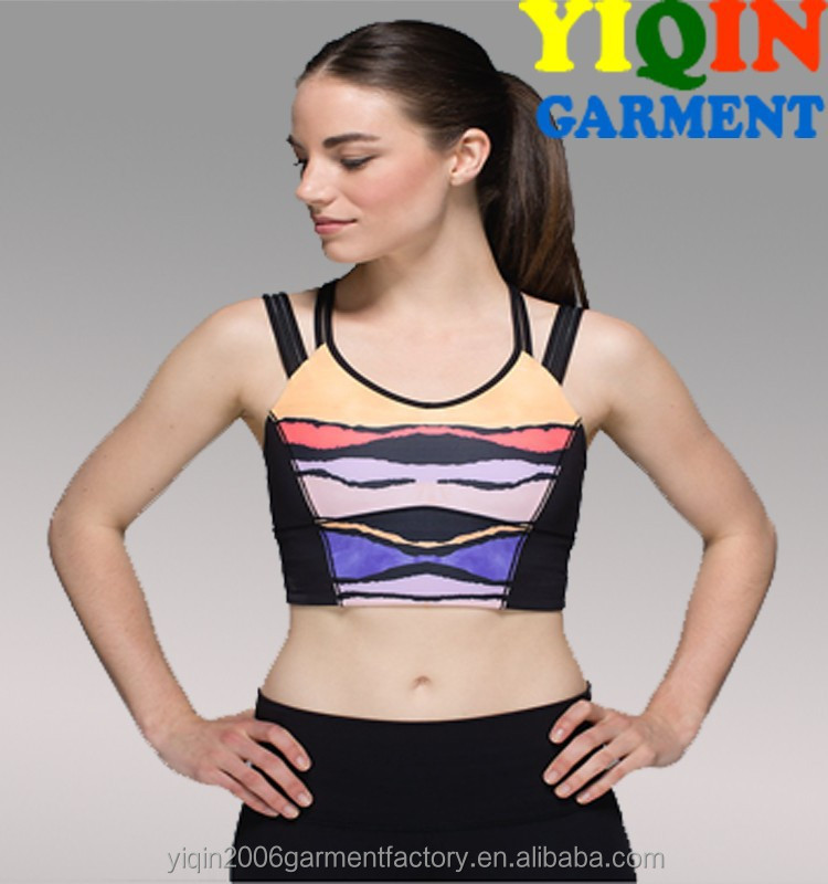 GYM Women Happy Strappy Long Line Bra