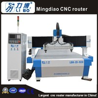Libo Large working area sculpture wood carving cnc router machine LBM-2D-1638