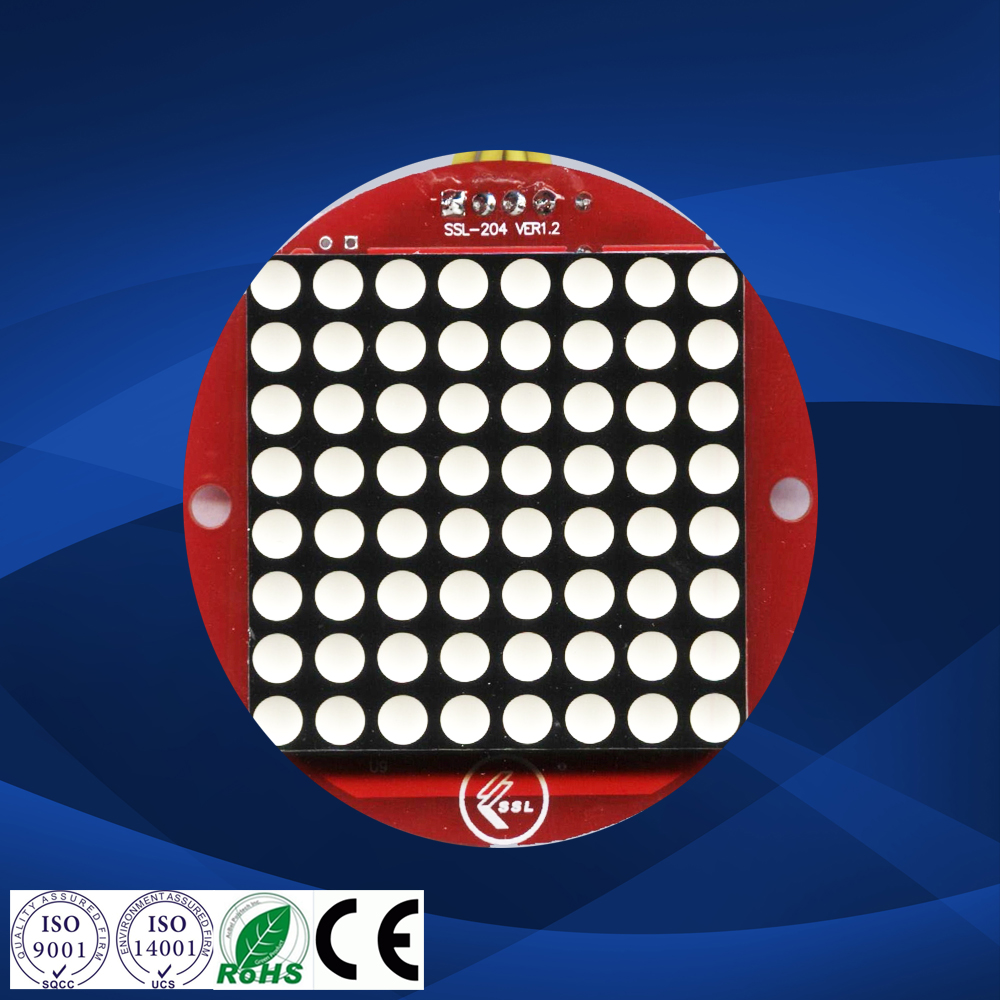 8x8 dot matrix display escalator and lift dot matrix module led 8x8 dot matrix
