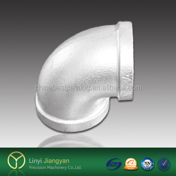 best price galvanized malleable iron/carbon steel pipe and fittings elbow