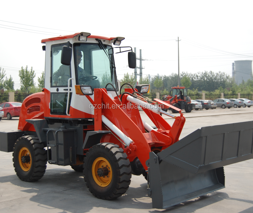 chanway 918 mini track loader for sale mini wheel loader zl16