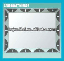Hot Sale Sand Blast Bathroom Mirror JLL-7002