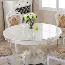 Customzed Size Clear Acrylic Round Table Top
