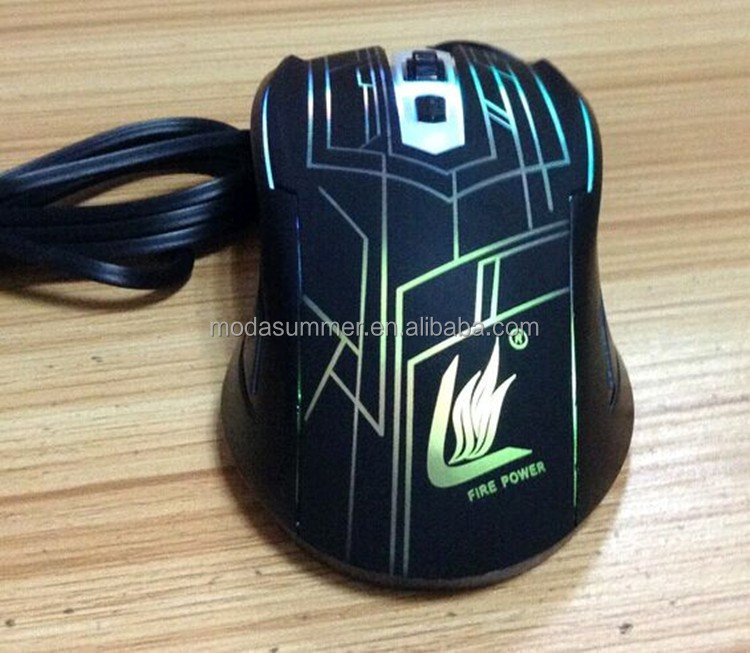 led light optical wireless computer mouse manufacturer