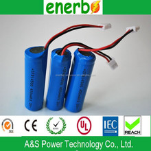 Good price LiFePO4 battery 14500 3.2v 450mAh with best protective and deep cycle life for digital camera