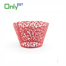 High Quality low price Wedding Party cup cake wrappers round multicolor