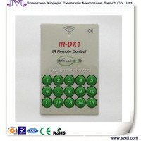 IR remote control panel/ film / touch panel / nameplate membrane switch keypad