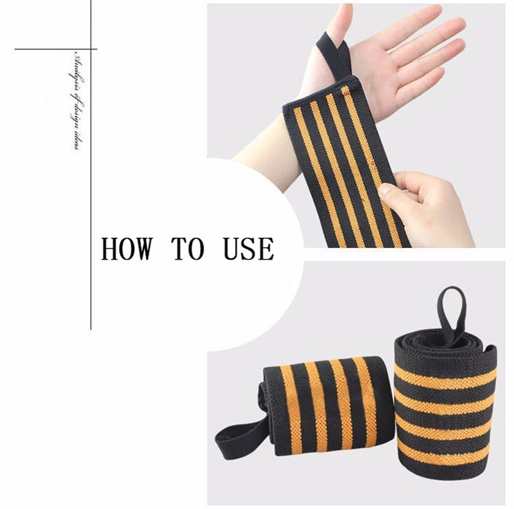 Weight Lifting Sports Elastic Wrist Wrap/Wrist Brace