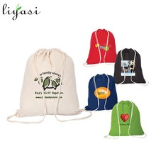 Promotion 600D Fabric Drawstring Bag Pressed with Logo