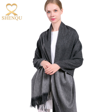 70 Pure Wool Scarf Pashmina Double Layer Pashmina Shawls And Wraps Solid Color Plain Pashmina Shawl