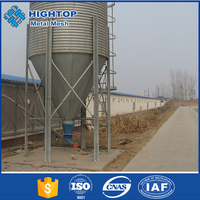 china supplier chicken feed cement silo with low price