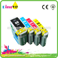 high capacity compatible refill ink cartridge for hp 88 C9396A C9391A C9392A C9393A