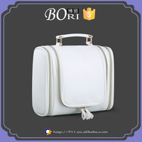 luxury travel hanging bulk contents pu cosmetic bag