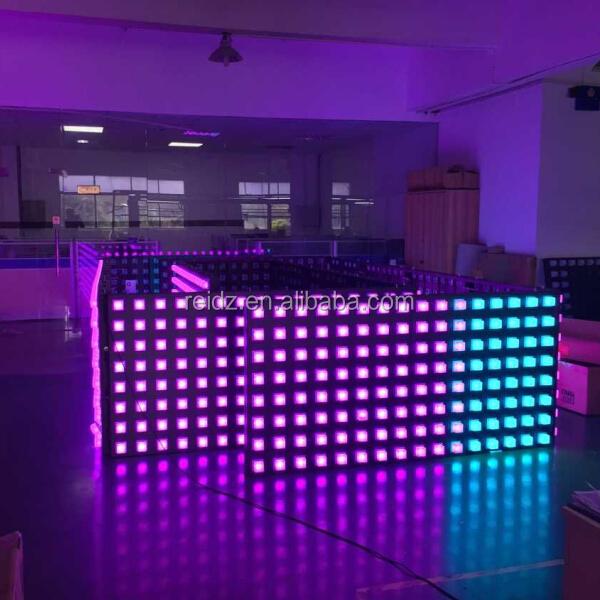 Aluminum composite panels pixel led interior decoration - Decoration led interieur ...