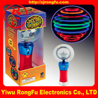 Wholesale magic ball toy light up spinning toy glow spin toy