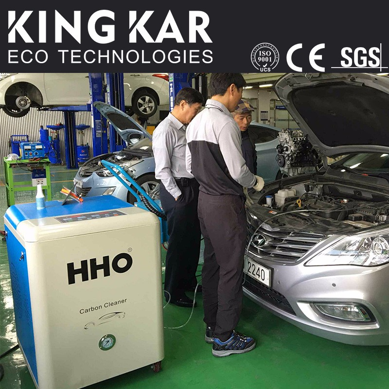 Prolong engine life HHO carbon cleaning diesel motor