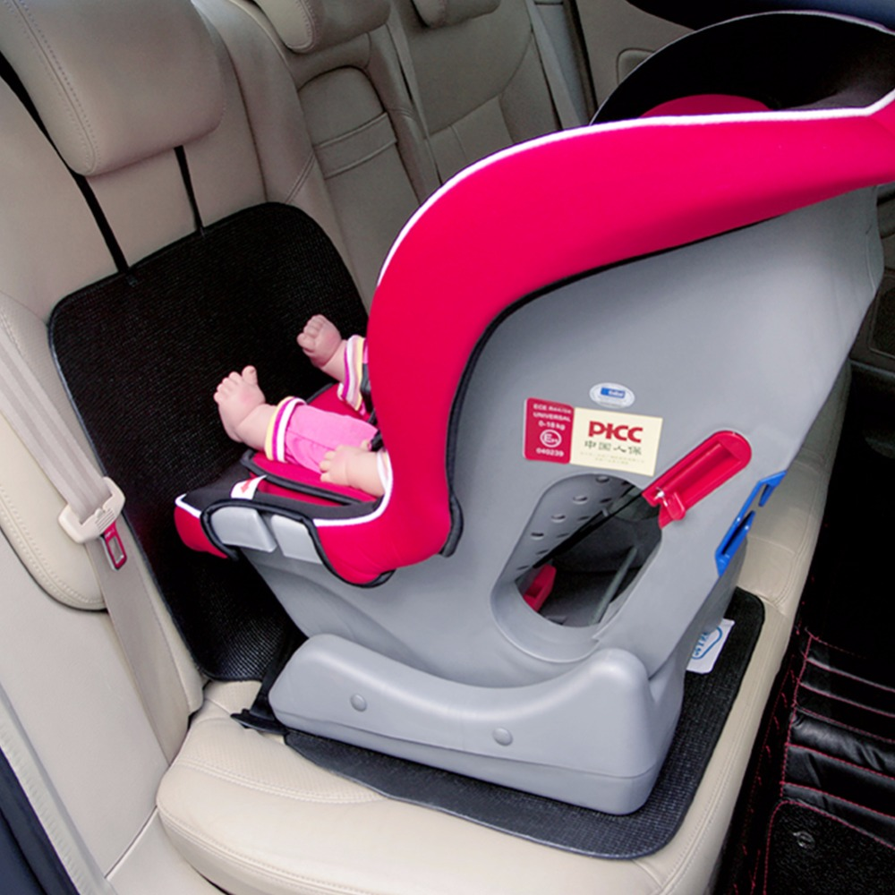 Hot sale waterproof PVC custom car seat covers with anti-slip straps