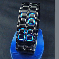 Stainless Steel LED Lava watches men festina men watch