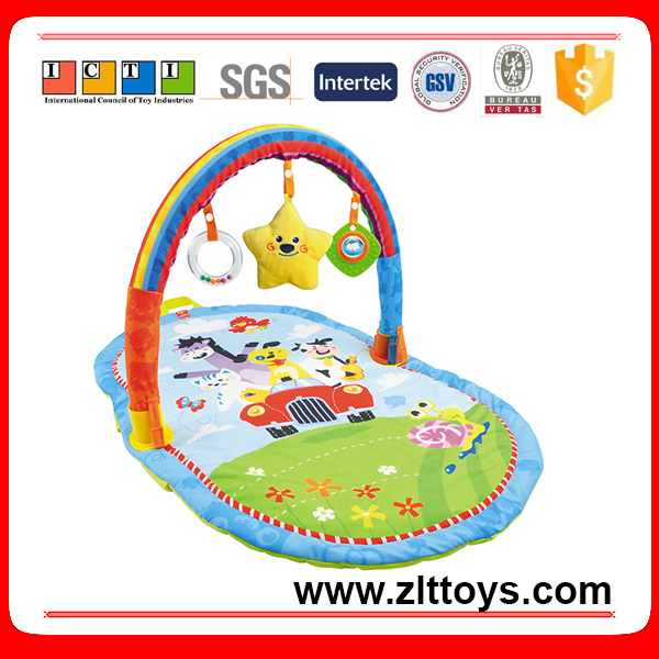 Hot sale lovely square mat baby play mat toys for children