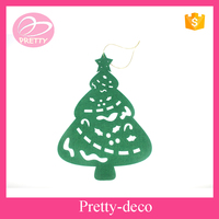 Polyester Christmas wall hanging,Christmas tree decoration items,decorative felt door hangers
