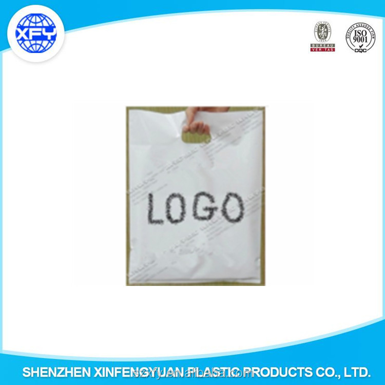 Manufacturer Factory Custom Logo Printing Plastic Carrier Bags