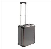 Custom size Pro Easy Carrying Trolley Aluminum Tool Case with Wheels or Rolls