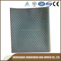 polyester/viscose chemical bond non-woven fabric cleaning wipes, cellulose nonwoven fabric