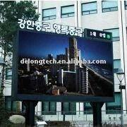 CE 6X4m P16 video advertising outdoor full color electronic display board