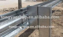 Highway guardrail barrier gate system galvanized road guardrail