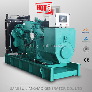 Low fuel consumption 60kw water cooled diesel generator with 75kva diesel cummins engine for sale