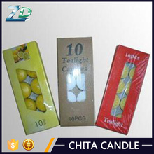 high quality paraffin wax tealight candle from China manufacturer