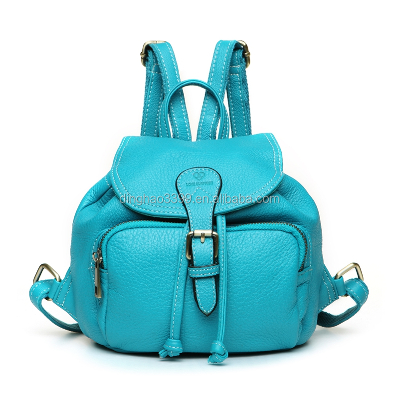 Wholesale promotional best brand beautiful ladies waterproof pu backpack