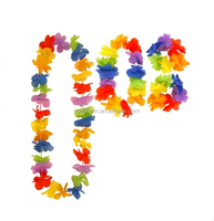 Hot Selling Party Decoration Hawaiian Flower Lei Set