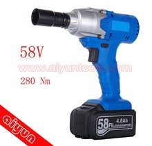 58V electric impact wrench cordless power spanner set Rechargeable torque wrench
