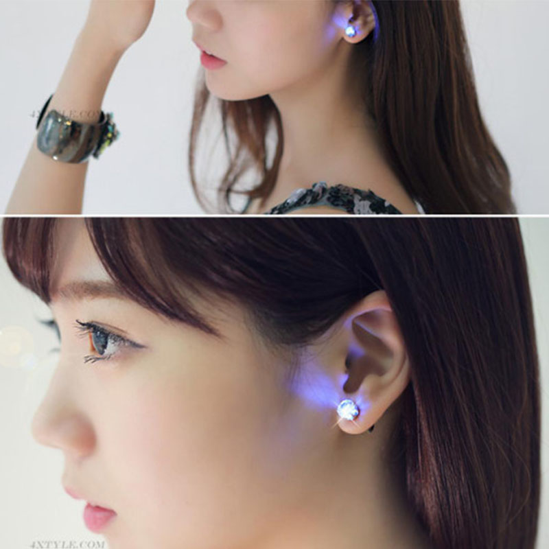 Wholesale cheap price LED earrings stud earrings hanging stud earrings