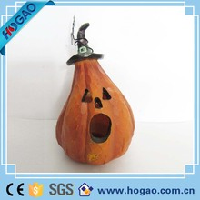 Wholesale Halloween Home Decoration Resin pumpkin