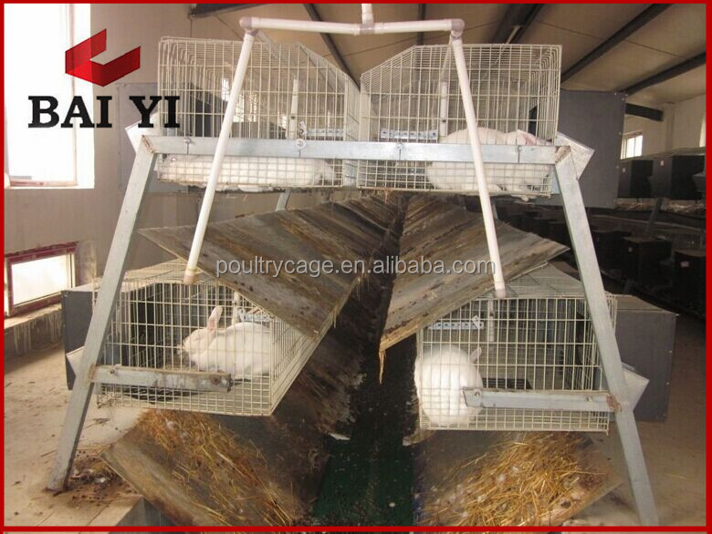 Commercial rabbit cages rabbit farming cage