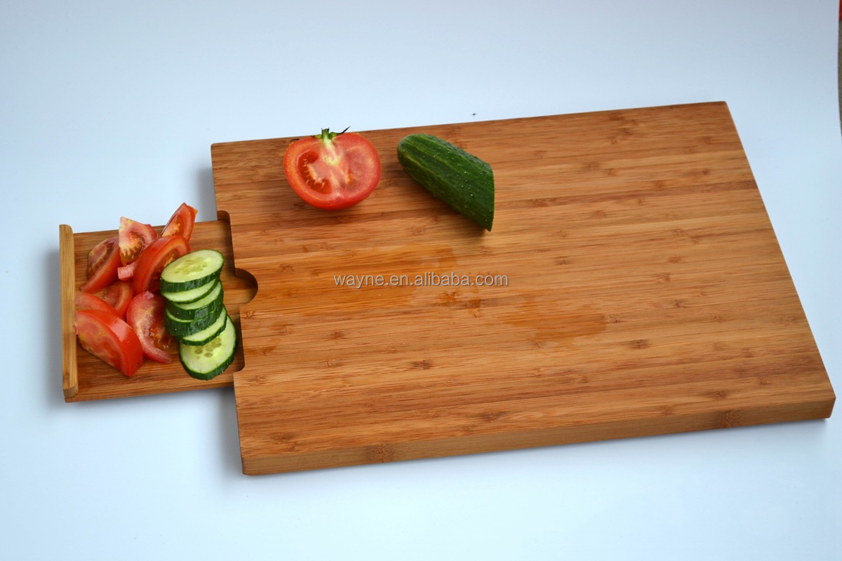 Bamboo Chopping board block Fruits and vegetables cutting boards smart and large OEM