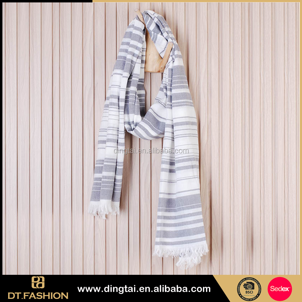 Fashion new product navy yellow manufacturer military scarf from china