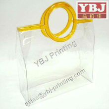 stand up and ziplock packing pvc bag