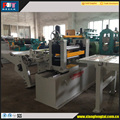 metal sheet and coil slitting machine to strips for making pipe