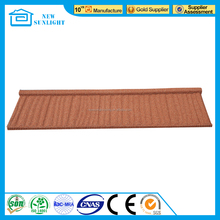 Metal building material sand coated color metal roof tile
