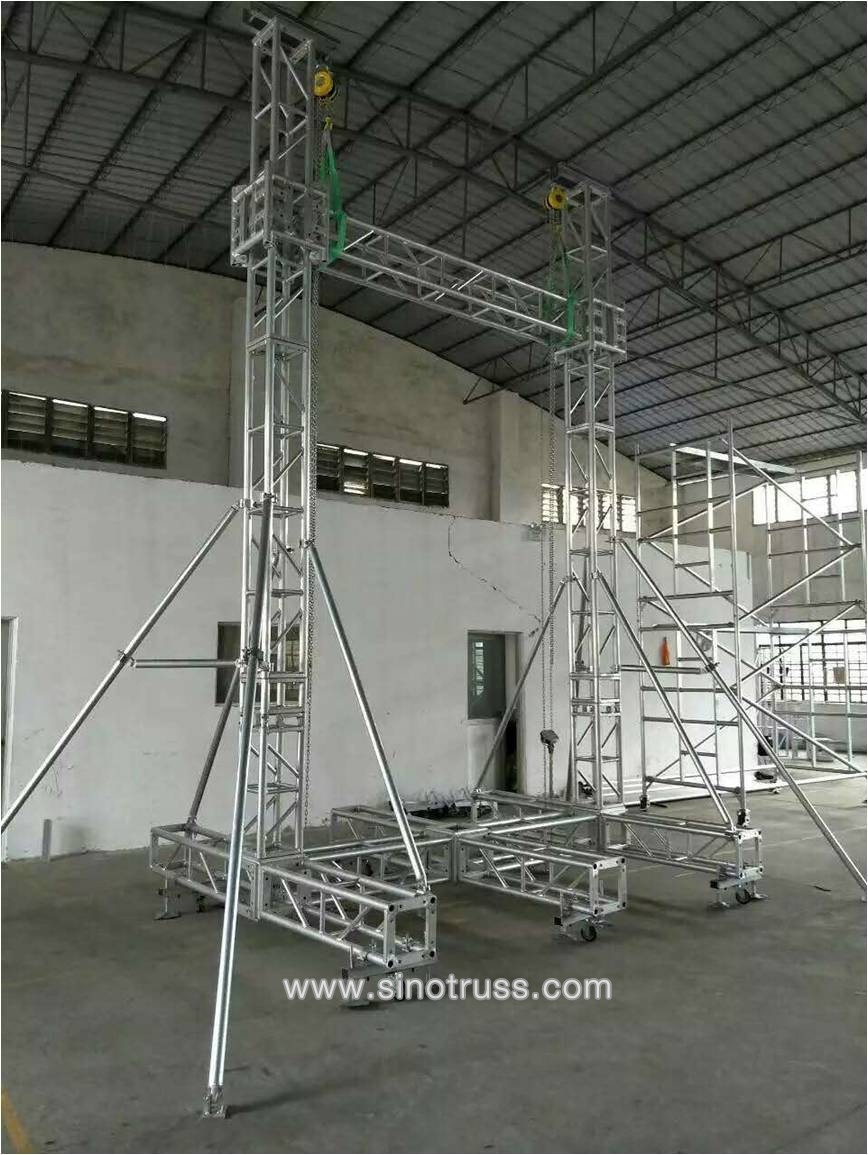 Factory price outdoor aluminum concert stage roof truss for Buy truss