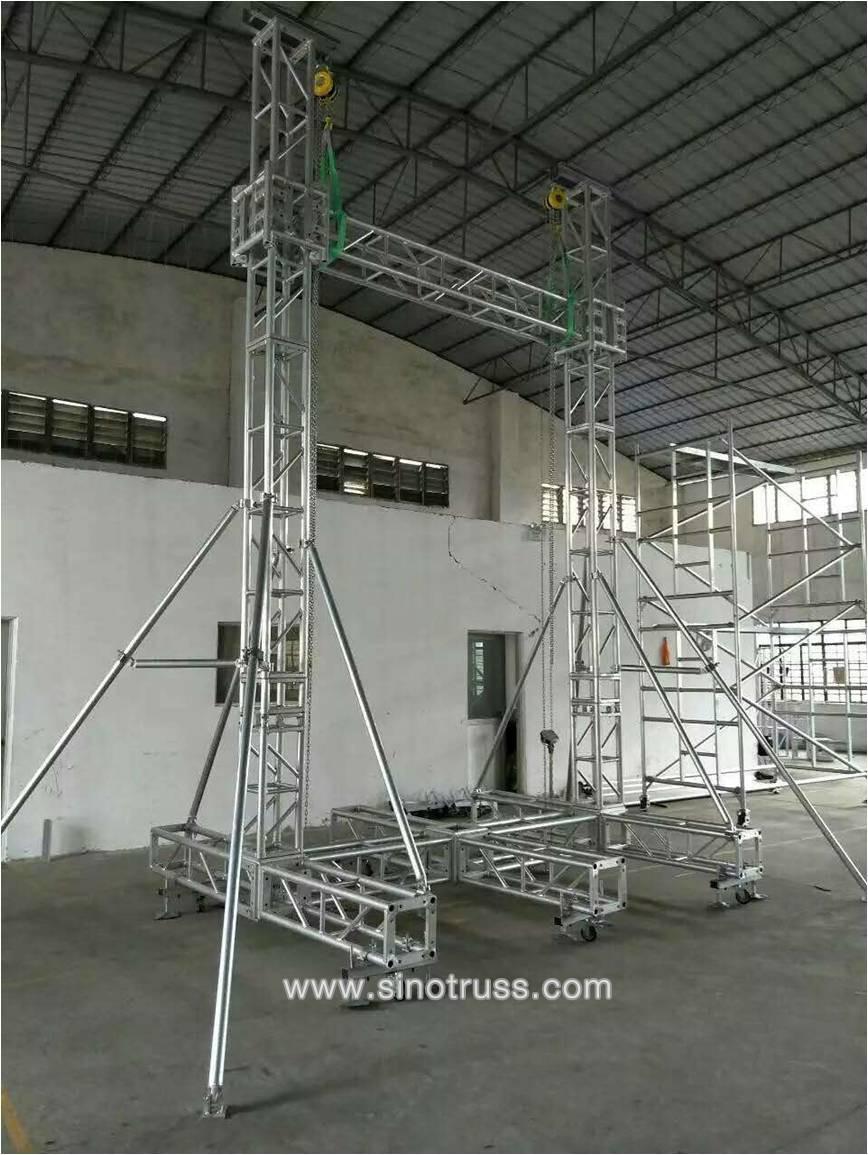 Factory Price Outdoor Aluminum Concert Stage Roof Truss